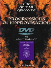 Progressions and Improvisation DVD cover